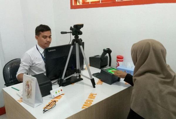 Lebih 180 Ribu Jemaah Sudah Rekam Biometrik