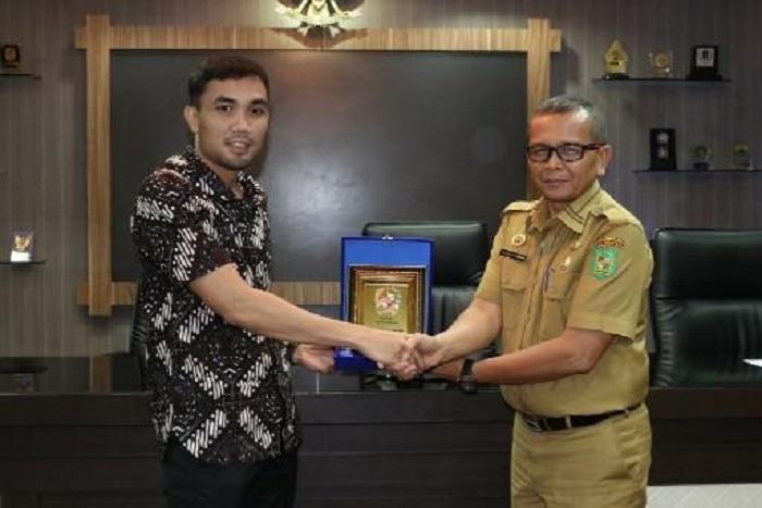 DPRD Komisi C Kota Magelang Sambangi Kantor Pemko Medan