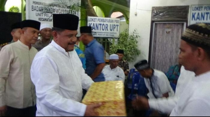 Tim Safari Ramadhan Sekdakab Hadir di Kecamatan Percut Seituan