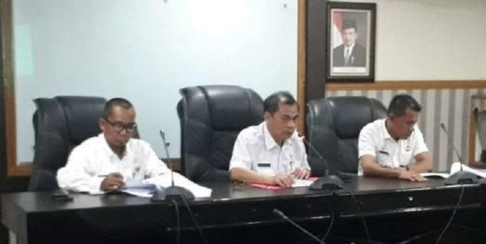 Rapat Pembahasan Eksaminasi Ranperwal Parkir Umum Dipimpin Walikota Medan