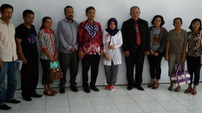 Kasus Pelecehan Anak di Taput, Keluarga Mohon Ombudsman Sumut Tegakkan Keadilan