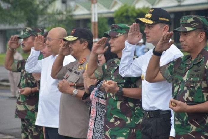Panglima TNI dan Kapolri Safari Ramadhan ke Sumut, Walikota Medan Lepas Rombongan ke Lanud Soewondo