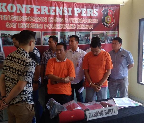 Lempar Polisi dengan Pecahan Botol di Gedung DPRD Sumut, Rabu Alam Ditangkap