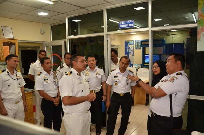 Delegasi Bakamla RI Berkunjung Ke ROC dan MRCC Indian Coast Guard