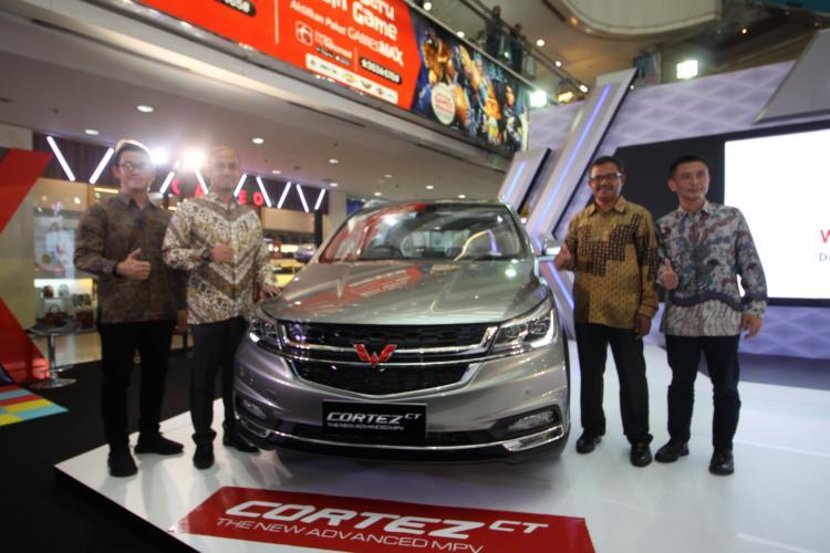Dibanderol Rp 243 juta-Rp 293 Juta, Wuling Luncurkan Cortez CT The New Advanced MPV di Medan