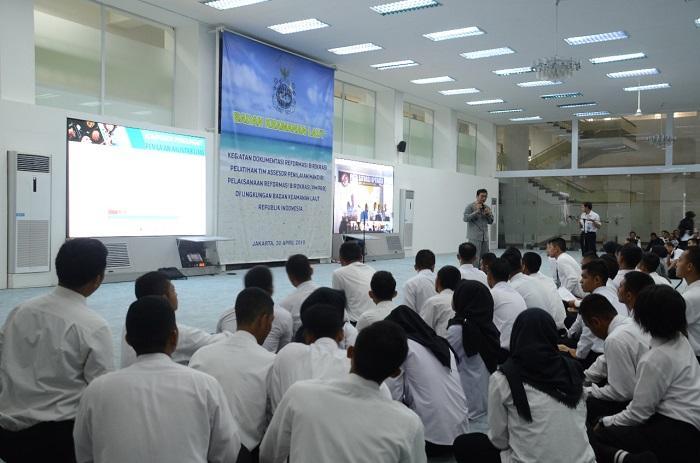 Bakamla RI Kumpulkan Personel Se-Indonesia Sosialisasikan Reformasi Birokrasi