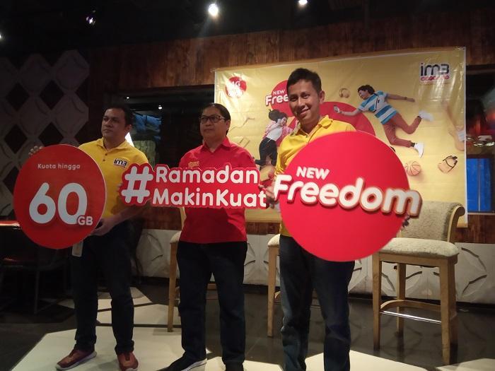IM3 Ooredoo Luncurkan Paket New Freedom, Eratkan Silaturahmi dengan #RamadanMakinKuat