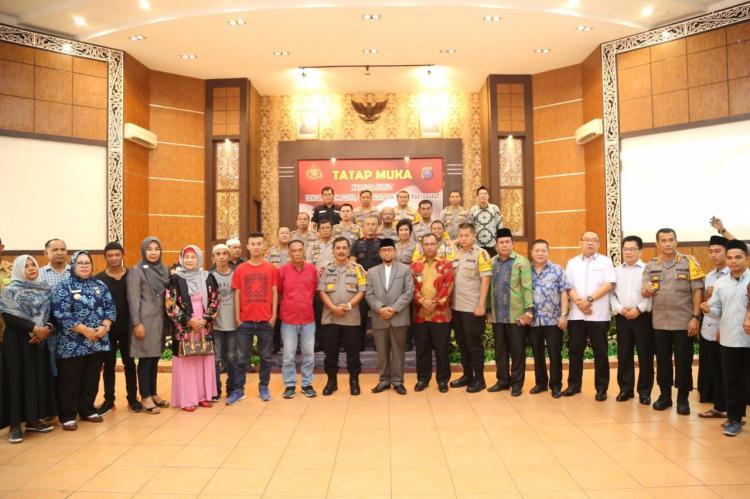 Kapolrestabes Medan Hadiri Tatap Muka Kapoldasu dengan Tokoh Agama, Tokoh Adat dan Tokoh Masyarakat