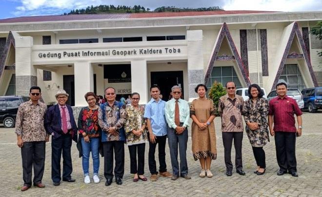 Geopark Kaldera Toba Menuju UNESCO Global Geopark