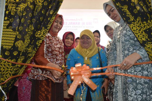 Ketua Dekranasda Sumut Resmikan Gedung Dekranasda Tanjungbalai