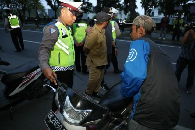 Pasca Sahur, Tim Pemantau Asmara Subuh Kembali Tertibkan Kawasan Ringroad