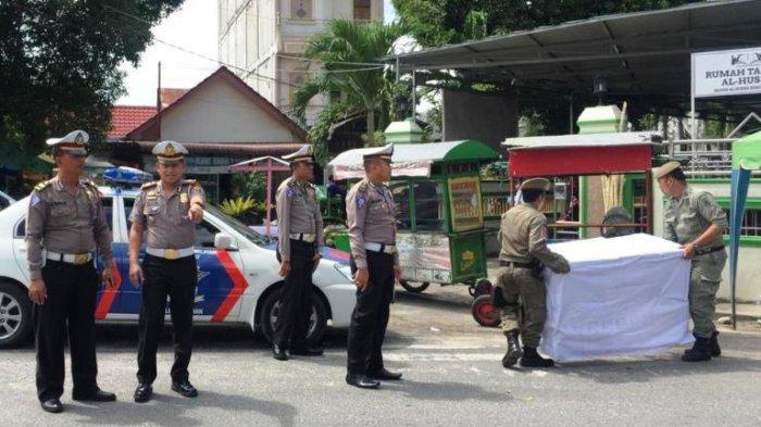 Antisipasi Macet, Polres Asahan Imbau Pedagang Musiman Tertib Berjualan