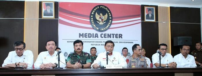Panglima TNI Dukung Penuh Polri Jaga Keamanan Negara