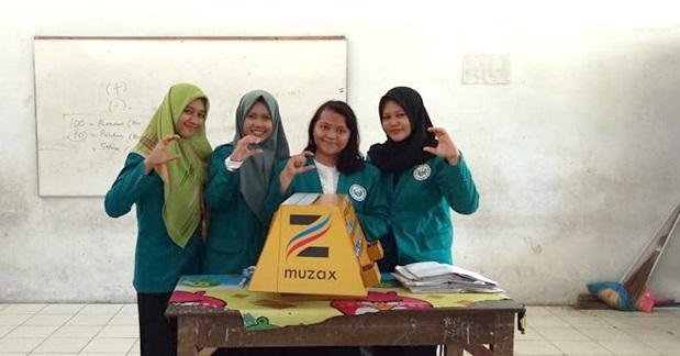Mahasiswa Unimed Ajarkan Matematika dengan Metode Muzax ke Murid SD di Deli Serdang