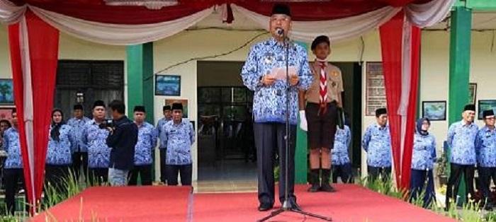 Ini Pesan Walikota Medan di Upacara Hardiknas 2019