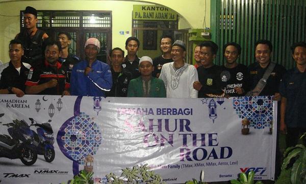 PT Alfa Scorpii dan Komunitas YRFI Adakan Sahur On The Road di Medan