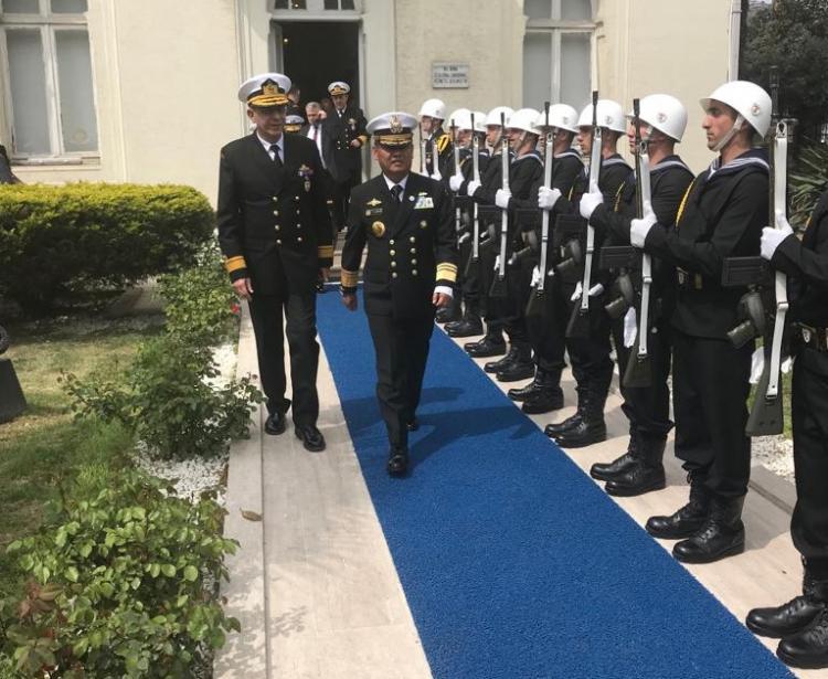Lanjutkan Diplomasi Maritim, Kepala Bakamla Kunjungi Turkish Coast Guard