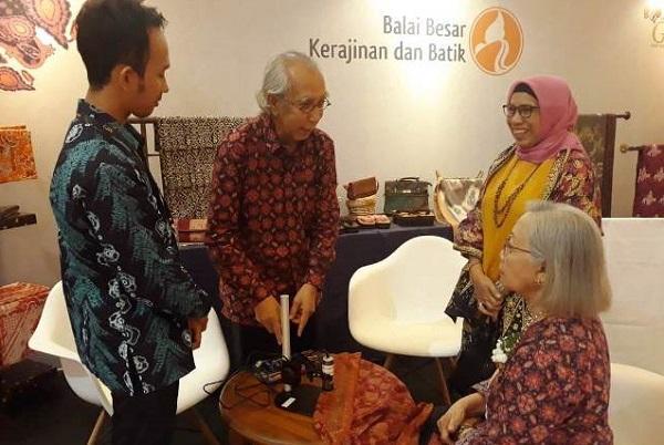 Unit Litbang Kemenperin Bikin Aplikasi Identifikasi Keaslian Batik