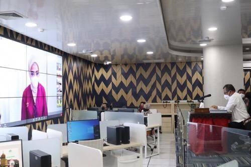 RUPS Bank Sumut Digelar, Plt Wali Kota Medan Ikuti via Video Confrence