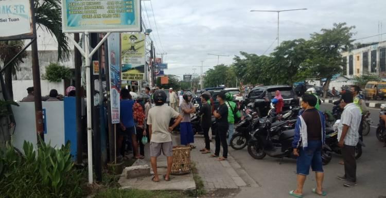 Polsek Percut Sei Tuan Razia Sahur On The Road yang Ugal-ugalan di Jalan Pancing Medan