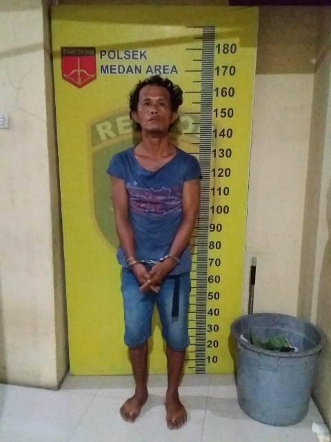 Beraksi di Kawasan Mandala, Seorang Komplotan Jambret Diringkus Petugas Polsek Medan Area