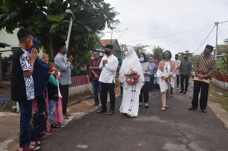 Rayakan Lebaran Bersama Anggota, Danrem 174 Merauke Silaturahmi Keliling Asrama