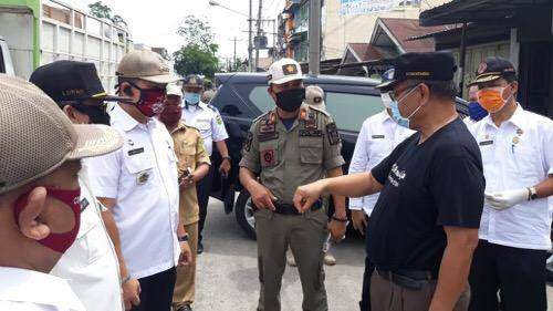 Razia Masker, Akhyar Nasution Sebut Kesadaran Warga Kota Medan Mulai Meningkat