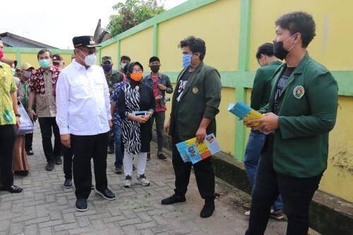 Kunjungi Kampung KB Kelurahan Amplas, Plt Wali Kota Medan Pesankan Ini