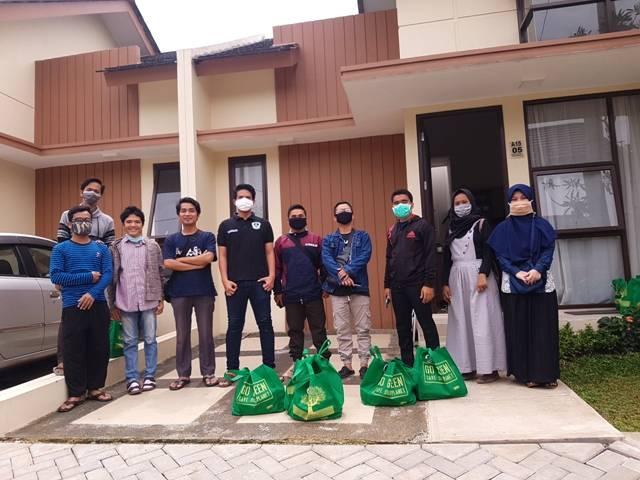 Angkatan Muda Padang Lawas Berbagi Sembako untuk Mahasiswa Perantau di Jabodetabek
