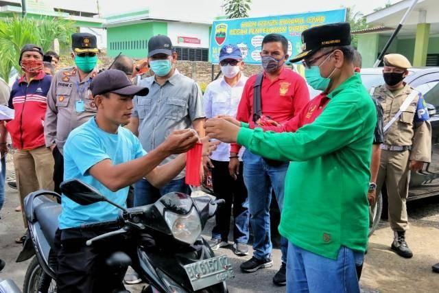 Tak Gunakan Masker di Kota Medan, Mulai Senin Ini Sanksi Berlaku
