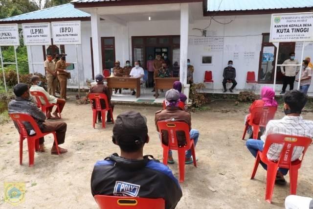 Pj Bupati Pakpak Bharat: Jangan Ada Pemotongan atau Pengurangan Pencairan Bantuan dengan Alasan Apapun