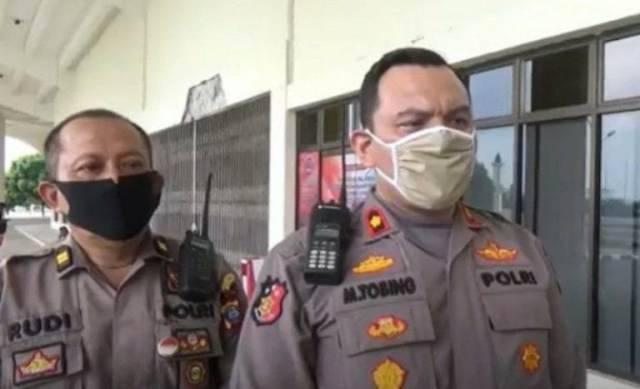 Putus Rantai Covid-19, Kapolsek Medan Baru Ajak Warga Jaga Jarak dan Tunda Mudik