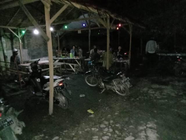 Patroli Covid-19, Polsek Percut Sei Tuan Amankan 22 Orang Warga dari Warung dan Cafe di Sampali