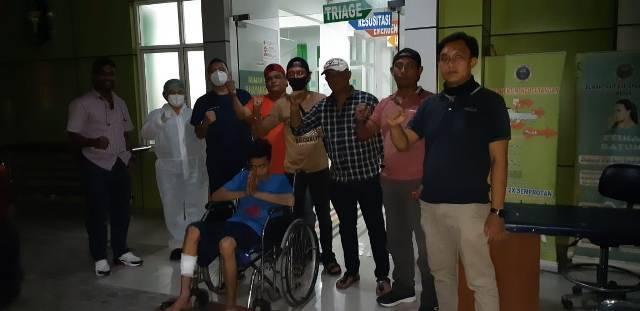 Sering Lakukan Curanmor, Tak Sadar Aksinya Terekam CCTV, Pria Ini Ditembak Polsek Sunggal
