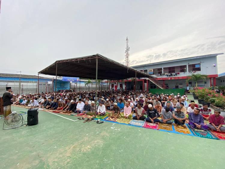 570 Napi Beragama Islam di Lapas Lubuk Pakam Dapat Remisi Idul Fitri