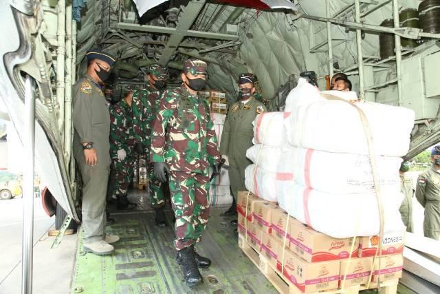TNI Kirim Bantuan Kemanusiaan untuk Korban Topan Harold ke Republik Fiji, 29 WNI Dibawa Pulang