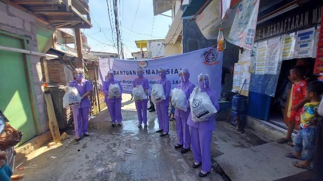 Kogabwilhan-I Bhakti Sosial di Dermaga Ujung Pluit Jakarta Utara
