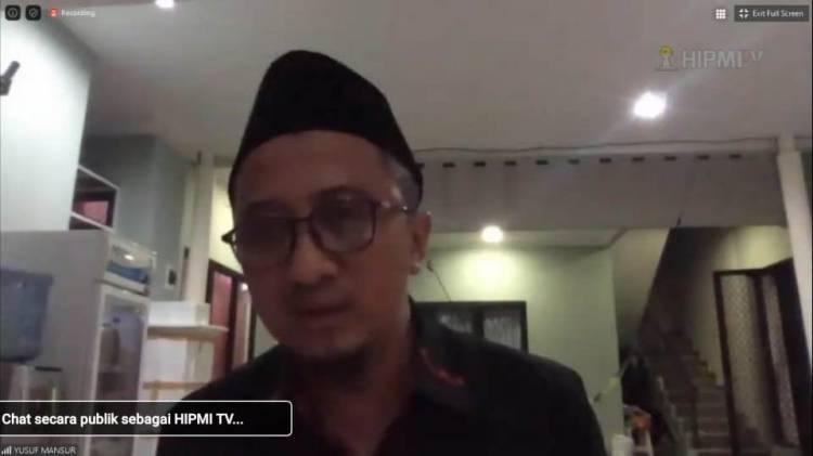 Ustadz Yusuf Mansur Tausiyah Online Bersama HIPMI, Pandemi Covid-19 Harus Bikin Pengusaha Tetap Berpikir Positif