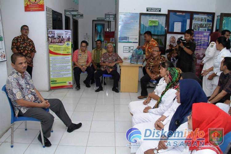Bupati Asahan Monitoring Kesiapan Pos Kesehatan dan Pengamanan Menjelang Idul Fitri 1438 Hijriyah