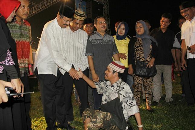 Masyarakat Desa Sampali Antusias Sambut Gubernur di Paten Ramadhan Expo