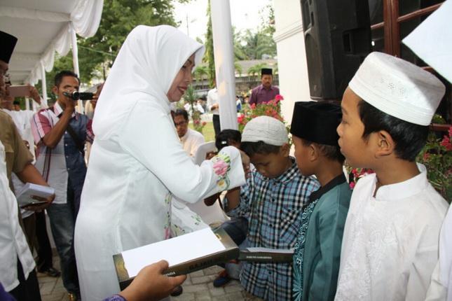 Safari Ramadan di Asahan, Wakil Gubernur Minta Pemda Dukung Investasi