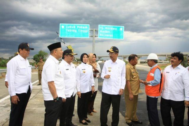 Jalan Tol Kualanamu-Sei Rampah Bisa Dilalui Pemudik Saat Lebaran