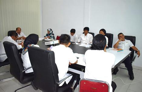 Bappeda Kabupaten Tapteng Laksanakan Rapat Pembahasan SSH Honorarium untuk Honorer/TKS