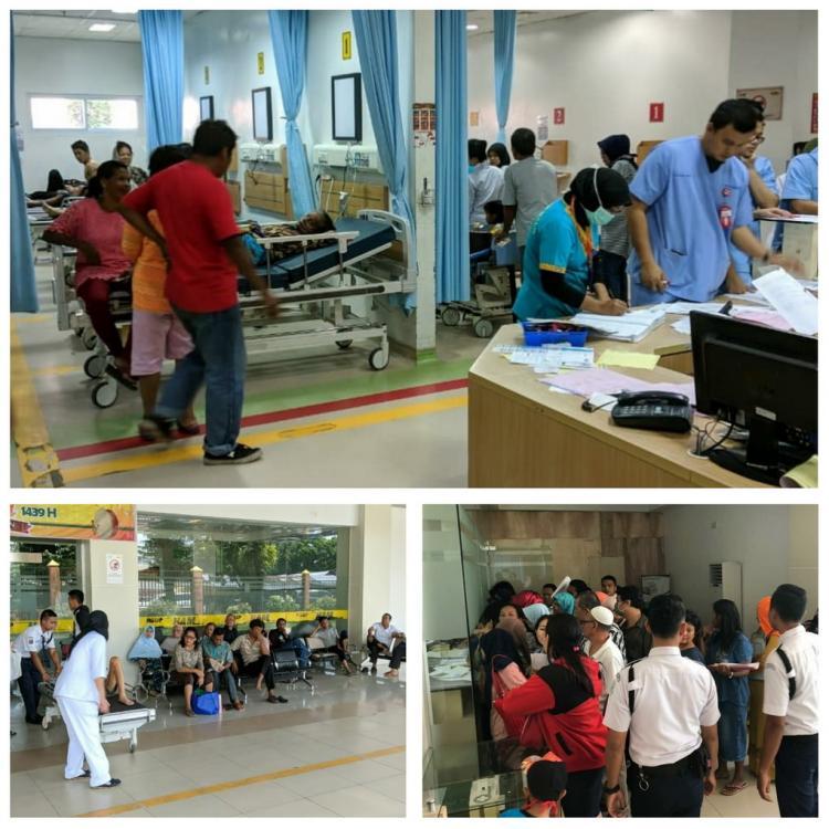 Cuti Bersama Lebaran, Pelayanan Kesehatan di RSUP H Adam Malik Ramai Lancar