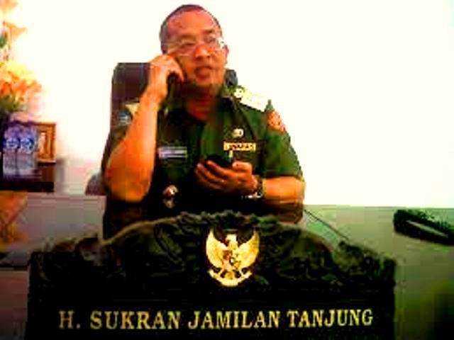 Mantan Bupati Tapanuli Tengah Sukran Jamilan Tanjung Resmi Ditahan Poldasu