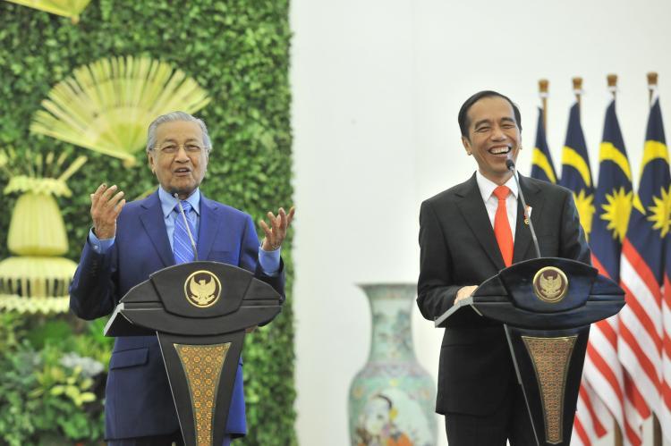 PM Mahathir: Soal Perbatasan RI-Malaysia Diselesaikan Dengan Joint Development Area
