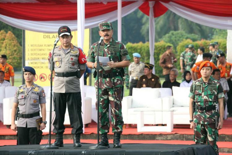 TNI dan Polri Ciptakan Suasana Iklim Kondusif Selama Arus Mudik