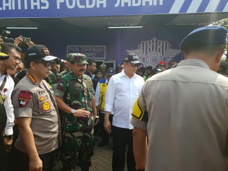 Panglima TNI Optimis Pengamanan Mudik Lebaran Dapat Berjalan dengan Baik