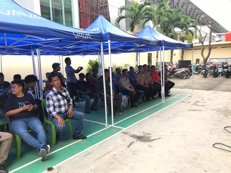 Polsek Medan Timur Gelar Halal Bihalal Bersama Wartawan