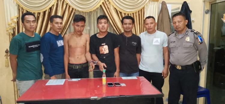 Asik Nyabu, Dua Remaja Ditangkap Polsek Kampung Rakyat